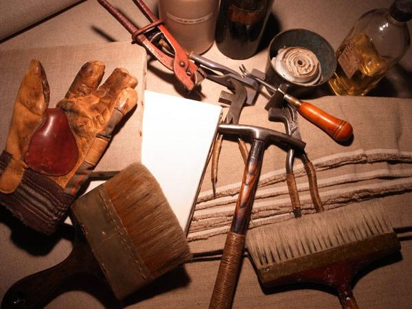 ※キャンバス製作に使う道具など
