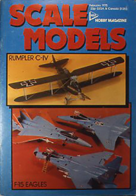 『Scale models』(雑誌) Model&Allied publications Ltd., USA Vol.6 No.65 Feb. 1975