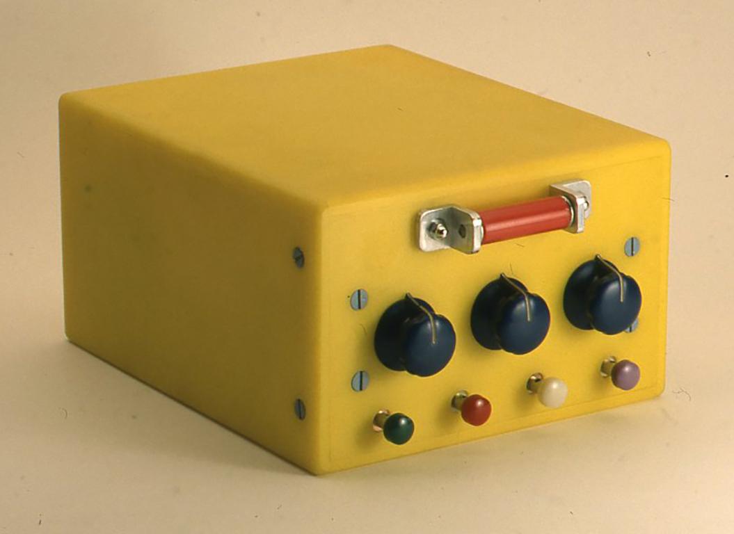 小林健二自作単一回路鉱石ラジオ