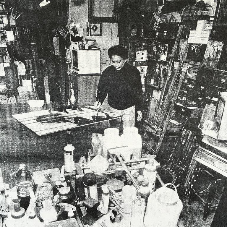 20-30代頃の小林健二アトリエ