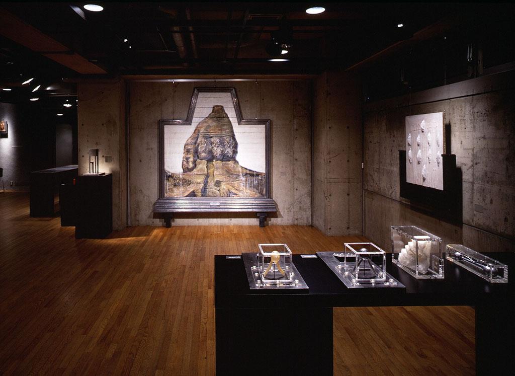 小林健二個展『黄泉への誓(うけい)』1990 会場風景