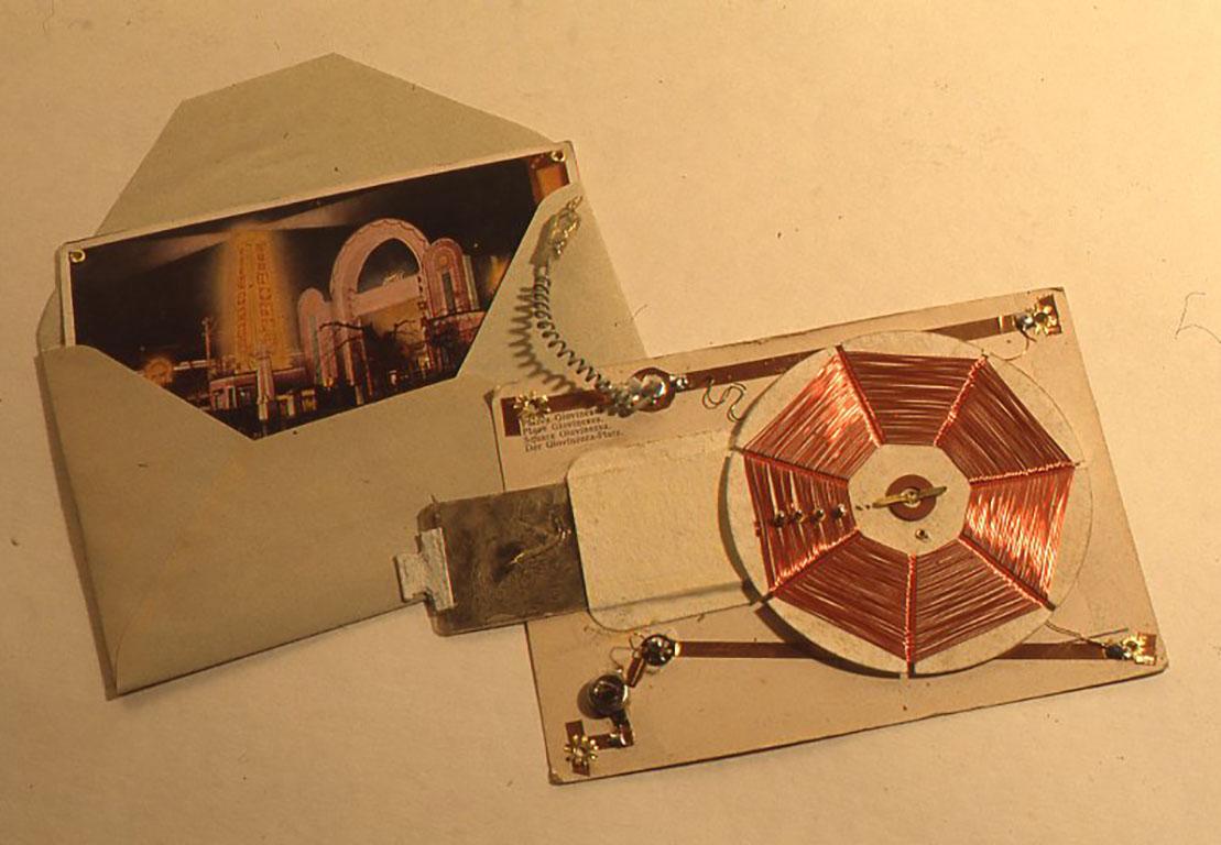 ポストカード式ラヂオ160X105(mm)