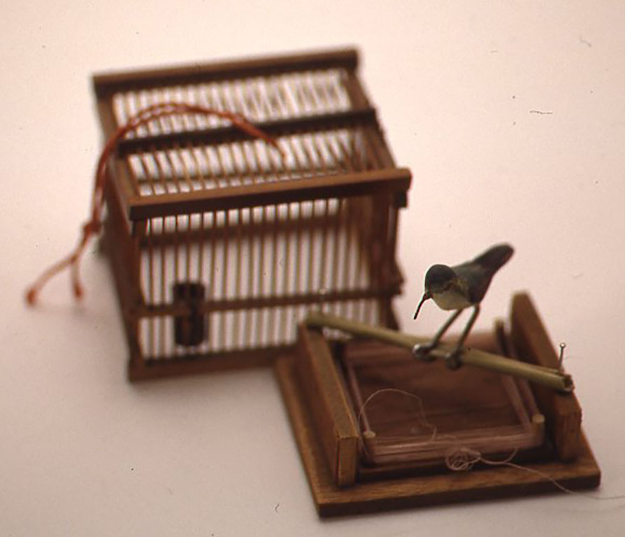 小鳥ラヂオ W72×D60×H65(mm)