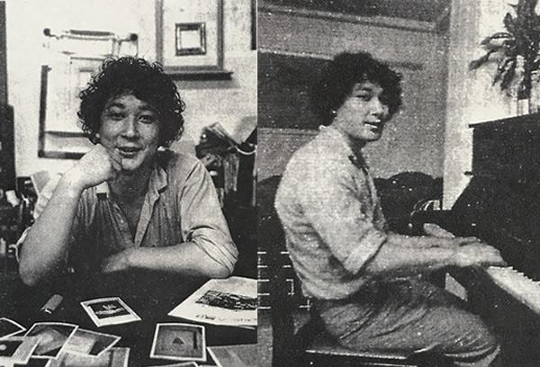 1983年、はじめての取材内容は、音楽機材についてのインタビュー