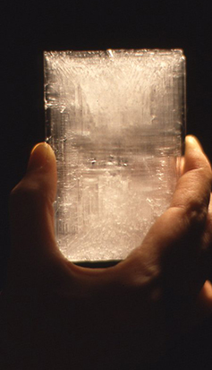 大きな結晶ができました。