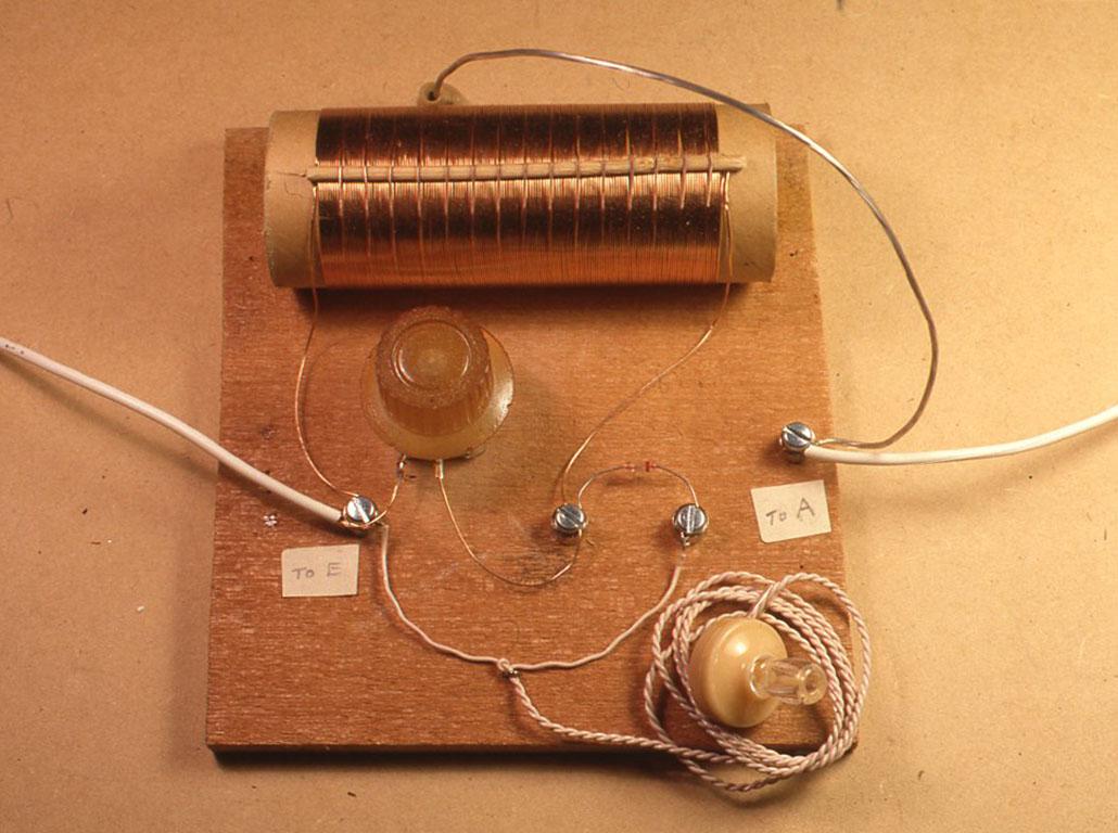 コイルにタップを出して作るゲルマラジオ(プロジェクト2)