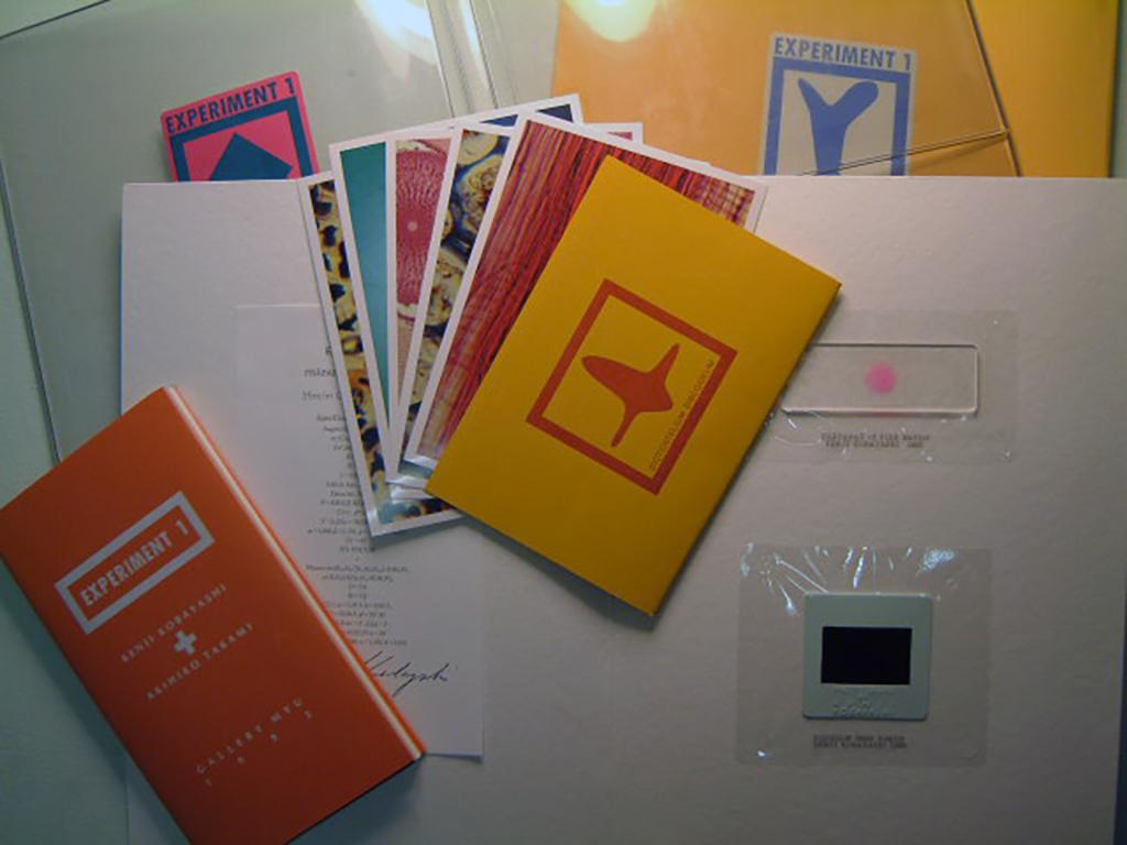 個展開催にあたり同時に発行されたART BOOK「EXPERIMENT1」
