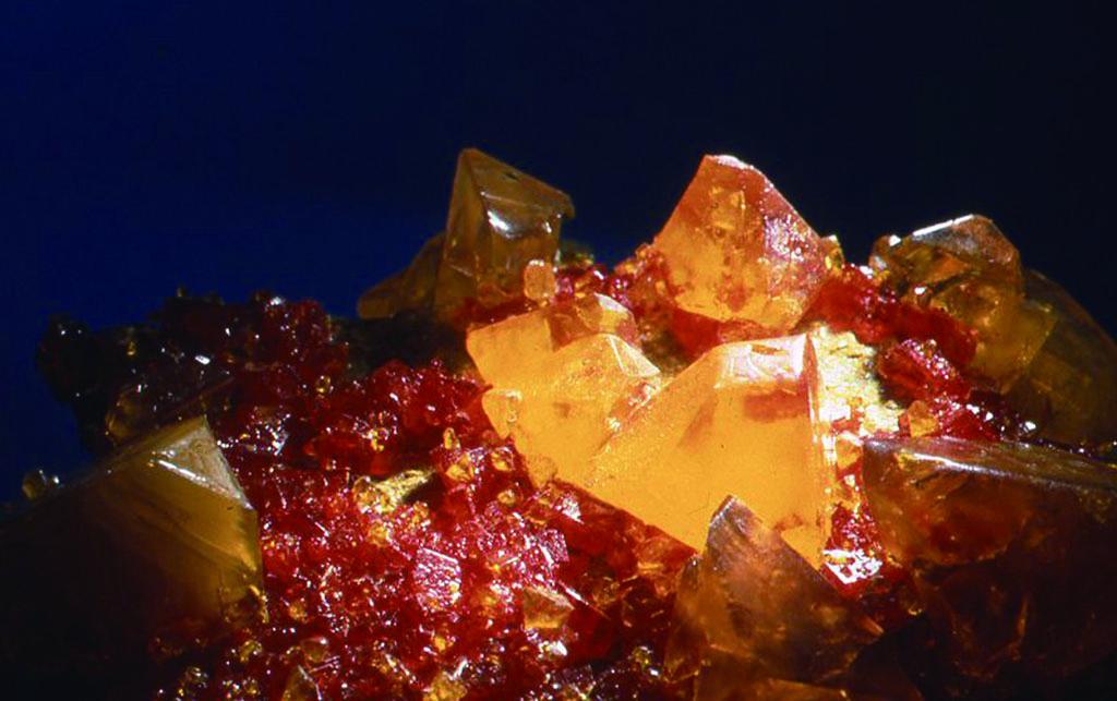 [AMBERITE]プロキシマ系鉱物 Lithium Trisodium Chromate Hexahydrate, etc